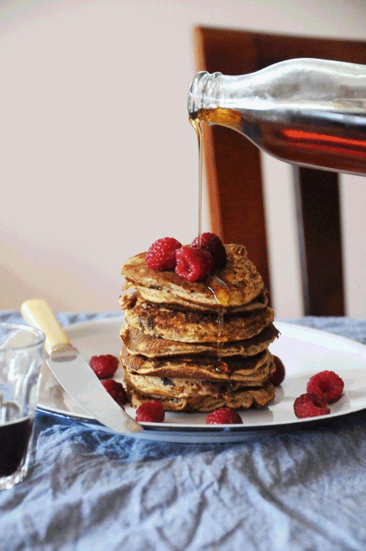 gluten-free lazy girl pancakes