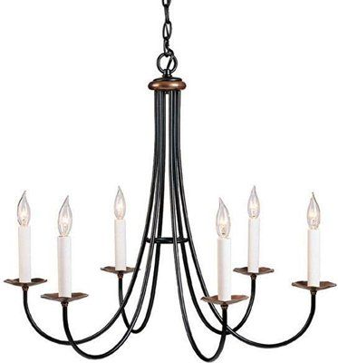 Hubbardton Forge Chandelier On Display In Our Southampton NY Showroom Made USA