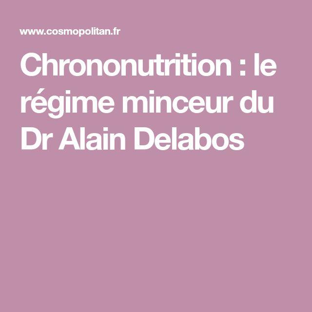 Chrononutrition: le régime minceur du Dr Alain Delabos