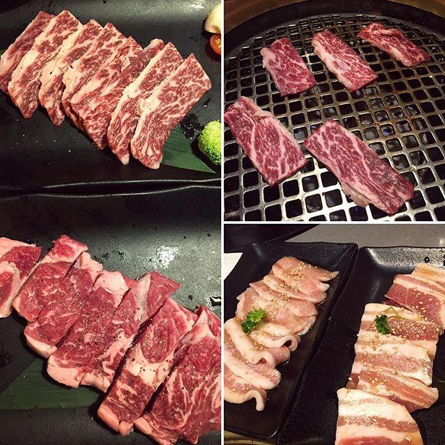 Kobe Short Ribs, Prime Ribeye, Pork Toro and Pork Belly  #gyukaku #kobebeef #kalbi #porkbelly #ribeye #bbq #japanesebbq #japanesefood #dinner #lunch #torontoblogger #food #foodto #foodie #tofoodies #yyzeats #foodporn #foodpornshare #foodpornto #blogto #to_finest #yum #yummy #foodgasm #foodstagram #foodblogger #foodiegram #foodpornshare #delish #toreats #toeats  Yummery - best recipes. Follow Us! #foodporn