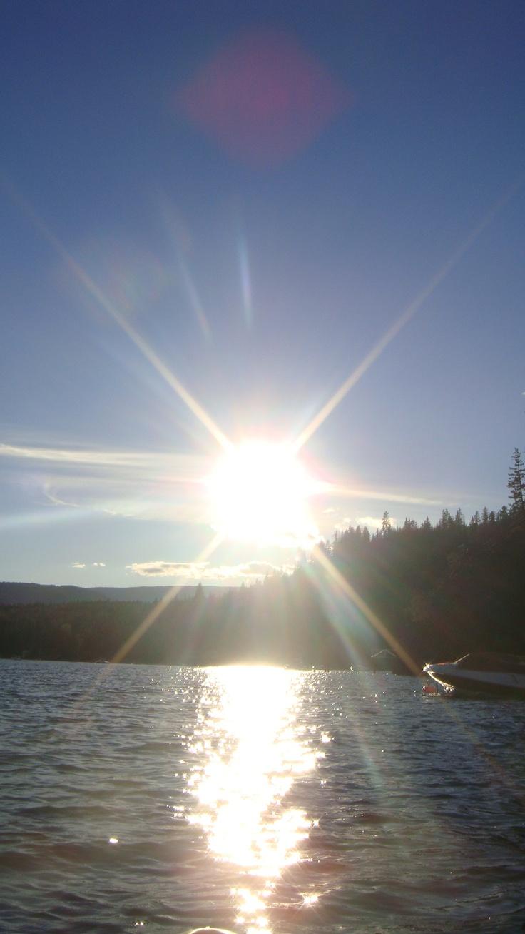 Shuswap Lake. A beautiful area.