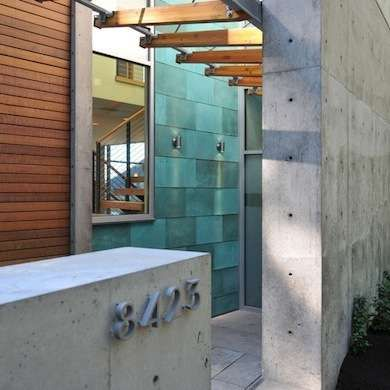 Copper and Concrete House
