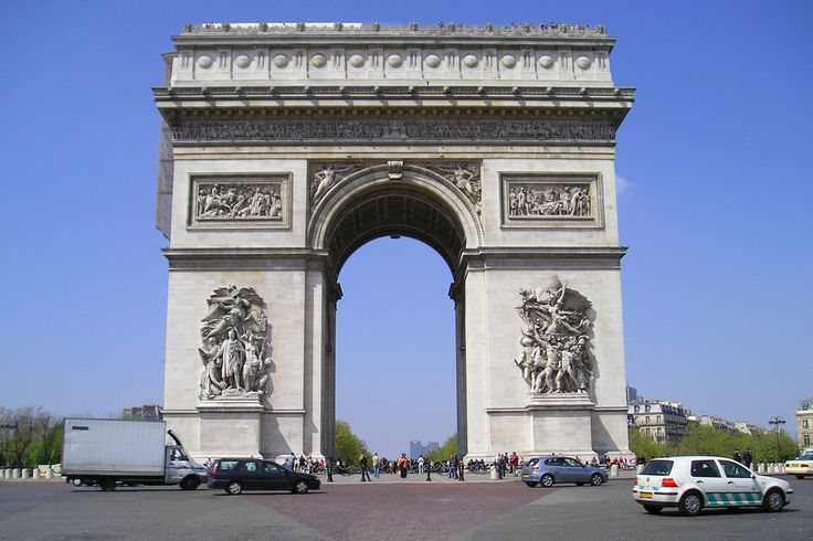 El Arco Del Triunfo Francia Grandes Estructuras