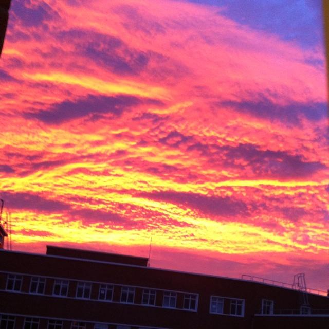 Sunrise, chch, Nz