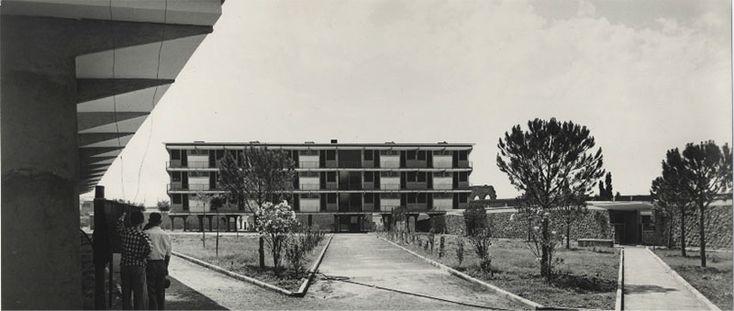 Adalberto Libera - Unità orizzontale, Tuscolano, Rome
