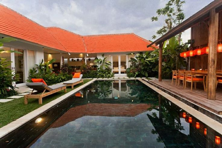 Villa Maxceo is a 3 bedrooms villa located near Canggu Club and just 2 minutes from the beach. Newly completed, the Bali private villa has been created to combine traditional Indonesian esthetic with modern style and comfort. www.villamaxceobali.com