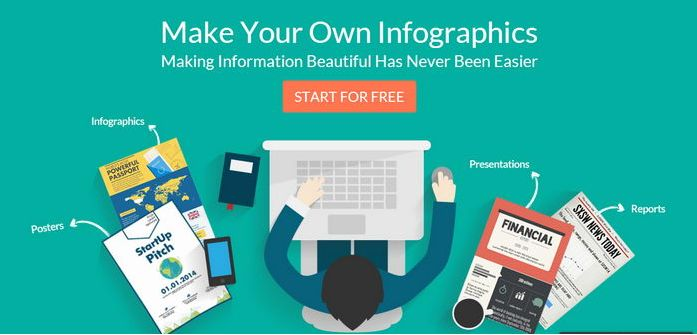 Design awesome infographics that go viral with Canva's amazingly simple drag-and-drop tool. Here is the 5 Great Online Tools for Creating Infographics.Top 5 most popular online infographic maker tools can be used for the business marketing and educational.