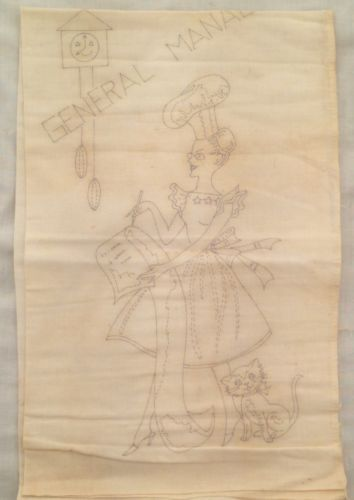 Vintage-General-Manager-Housewife-in-Kitchen-Dish-Towel-Embroidery-Template