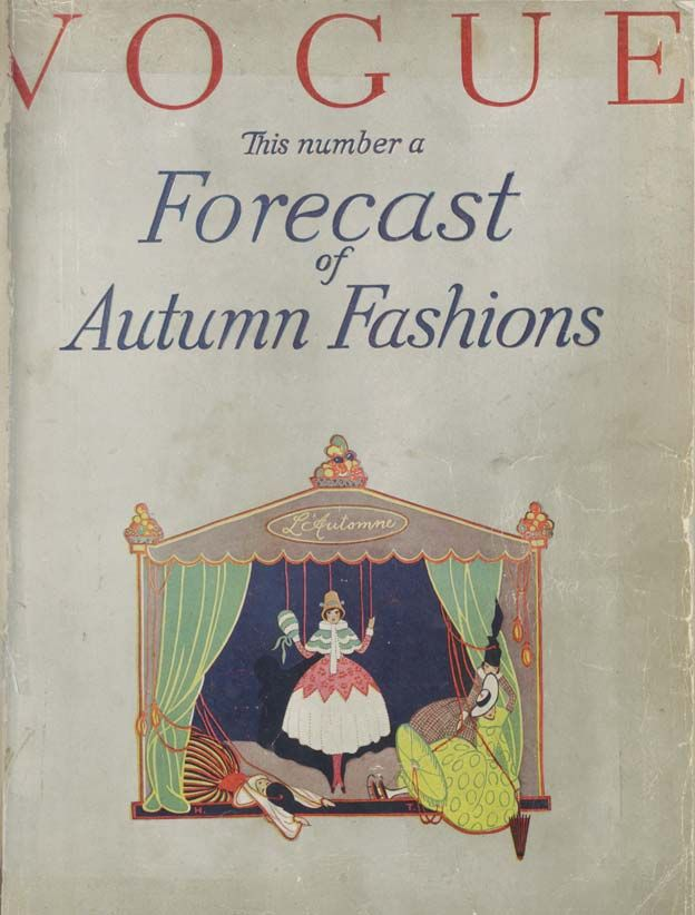 September 1916 - the first ever British Vogue.