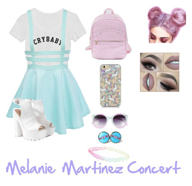 """Melanie Martinez Concert"" by xitsashax on Polyvore featuring Glamorous, Tildon and With Love From CA"