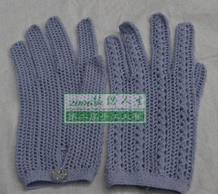 Free Crochet Pattern for gloves / mittens