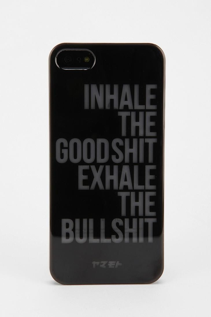 GlowInTheDark Phrase iPhone 5 Case urbanoutfitters