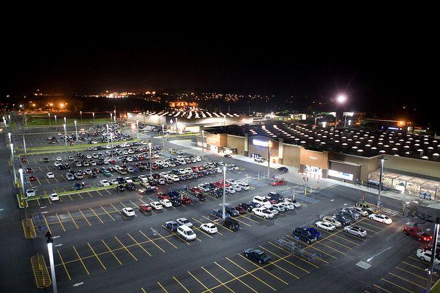 Advantages of LED Parking Lot Lighting