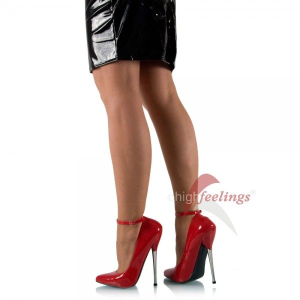 Extrem High Heel in Rot