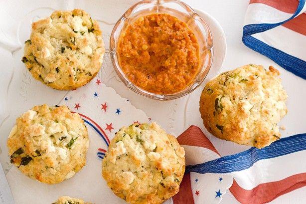 Three cheese muffins main image
