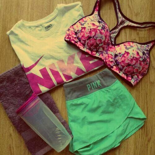 Some comfortable workout clothes