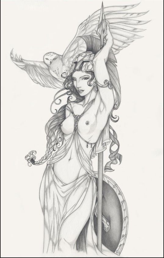 Goddess Athena