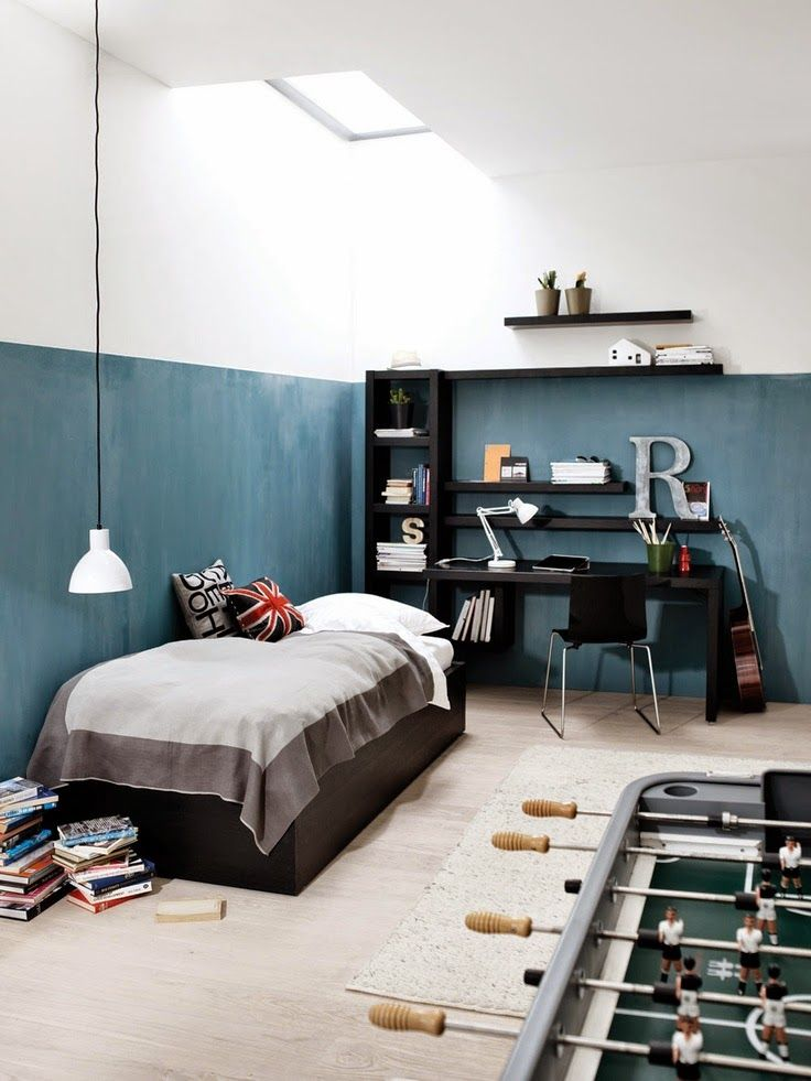 the boo and the boy: boys' rooms