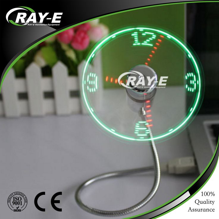 2016 Hot sale Portable air conditioner bladeless fan mini usb fan for led messages