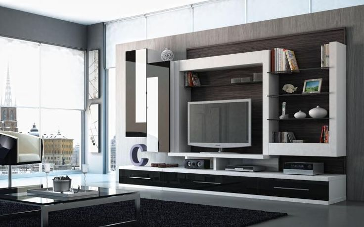 Muebles living comedor modernos google search centros for Muebles modernos living para tv