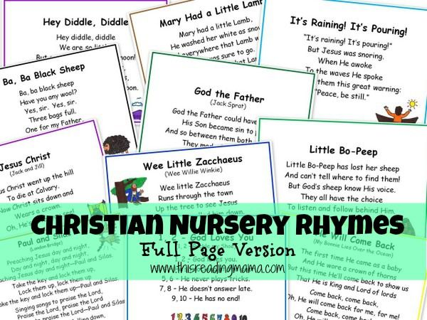 Free Nursery Rhymes Printables School Pinterest And Preschool