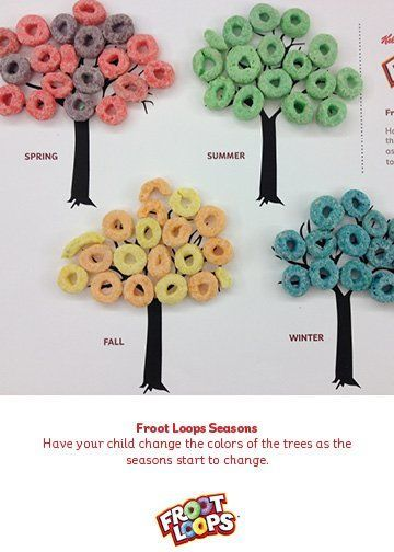 Your child will learn about seasons and the colors changing with this Busy Bag. #busybag #preschool #kidsactivities