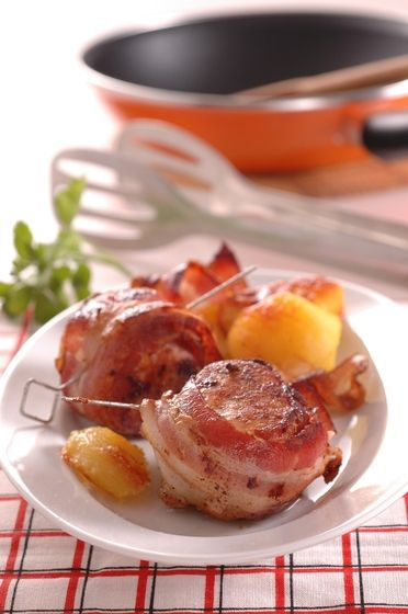 Budete sa oblizovať: Bravčová sviečkovica obalená v slanine