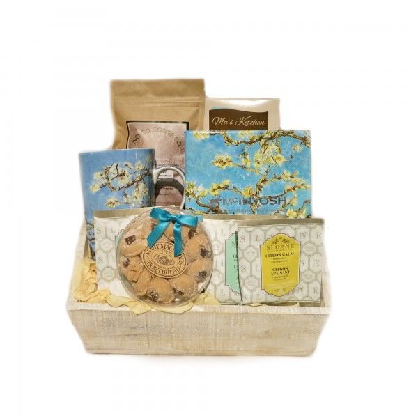 Almond Blossom Van Gogh Mug Gift Basket