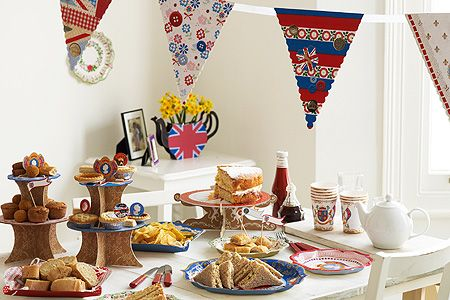 British Street Party Supplies at PastTimes.com