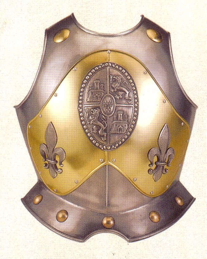Breast plate of st lancelot
