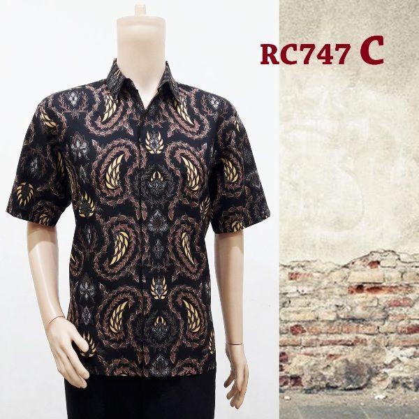 Hem Batik Pria Moderen RC747