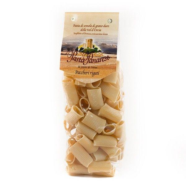Vendita online | Paccheri Rigati Pasta di semola di grano duro sacchetto da gr.500 Pasta Panarese - Gastronomia - Prodotti Italiani
