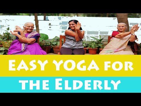easy yoga for elderly senior citizens  seated exercises