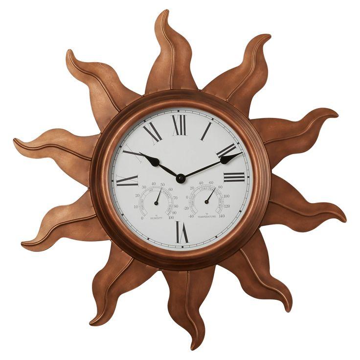 """Manasota 24"""" Indoor / Outdoor Wall Clock"""