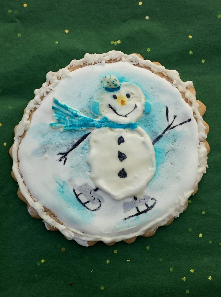 Midge's Christmas cookie