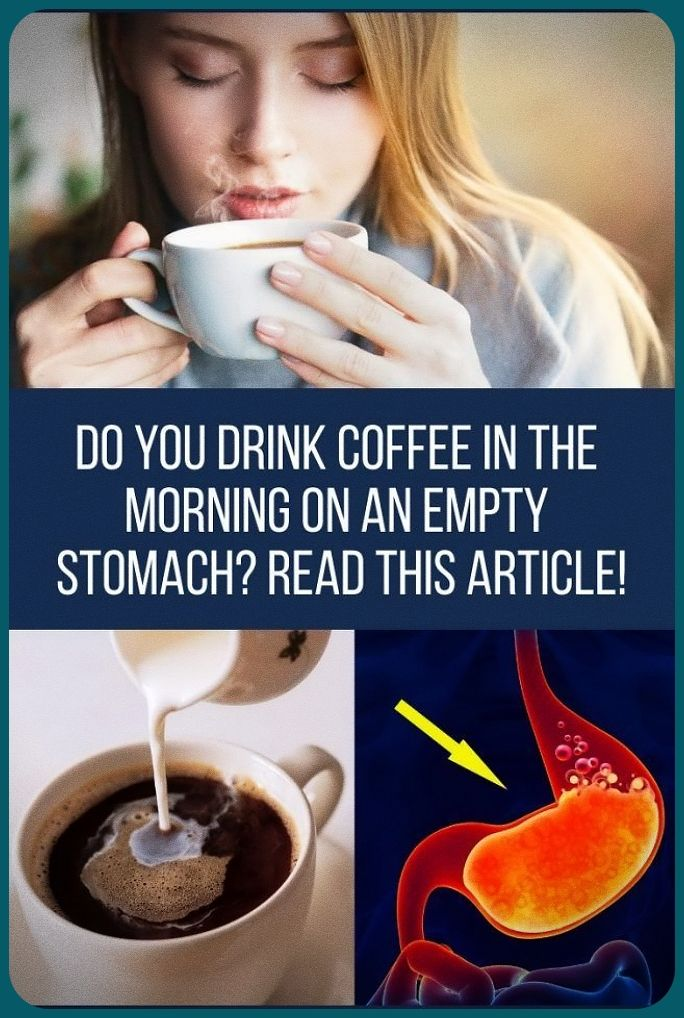 Do You Drink Coffee In The Morning On An Empty Stomach In 2020 Healthy Website Health Womens Health Care