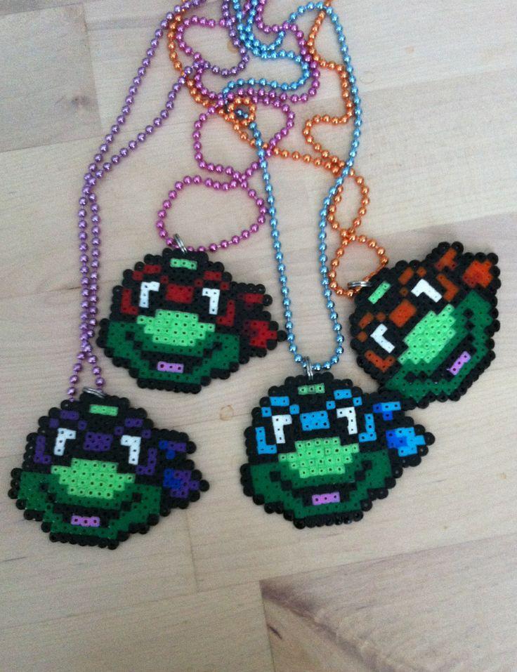 Turtles! Hama beads