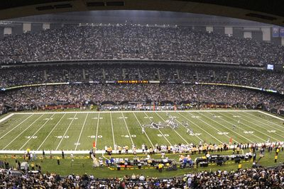 Giants Saints Football: New Orleans, LA - Louisiana Superdome Panorama