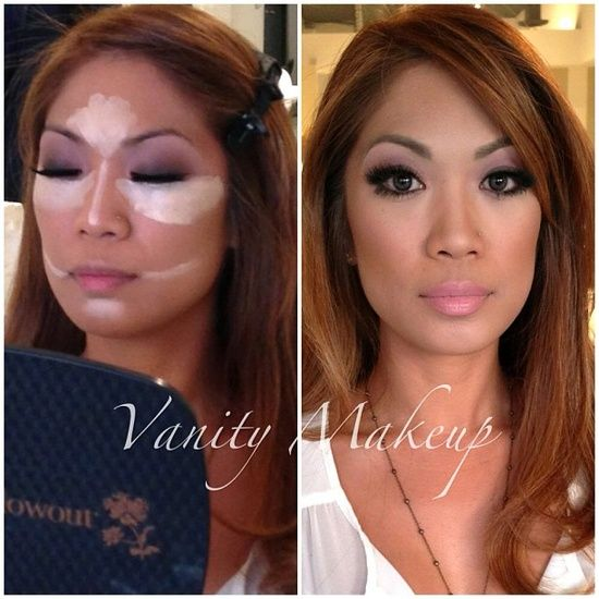 contour and highlight– gotta remember this