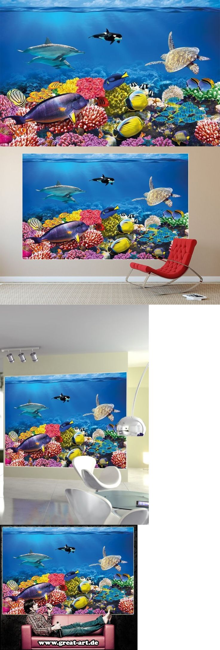 best 25 sea murals ideas on pinterest wall murals bedroom tree wallpaper murals 79626 undersea coral reef photo wall paper aquarium fish sea mural