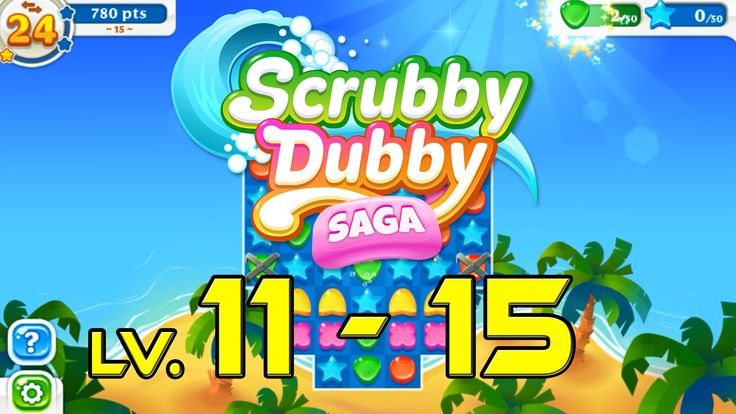 Scrubby Dubby Saga - Level 11 - 15 (1080p/60fps)