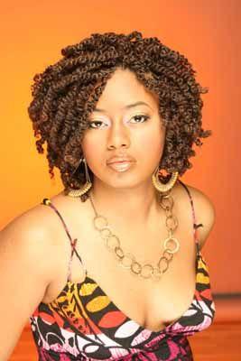 Peachy 1000 Ideas About Short Kinky Twists On Pinterest Kinky Twists Short Hairstyles For Black Women Fulllsitofus