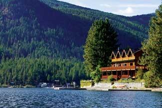 Sunflower Inn waterfront Bed and Breakfast, Christina Lake B.C.