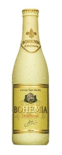 Cerveja Bohemia Confraria, estilo Belgian Dubbel, produzida por AmBev, Brasil. 6.2% ABV de álcool.