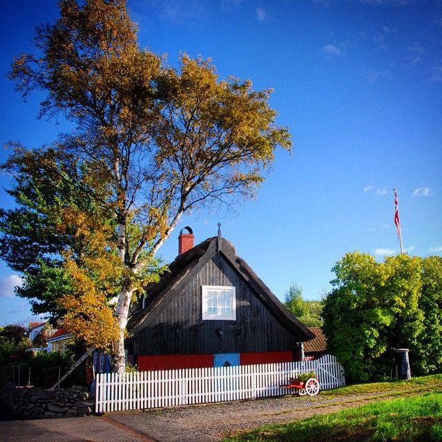 Herbst auf Bornholm #haus #house #nature #bornholm #daenemark