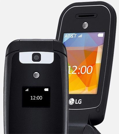 separation shoes 28ba1 fce8d LG B470 at AT&T: Flip phone delivering functionality and ...