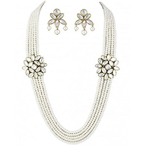 Bollywood Inspired Style 5-Line White Peals Double Kundan... https://www.amazon.com/dp/B01N8ZL0UW/ref=cm_sw_r_pi_dp_x_ca9lzb4F8MMJ8