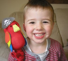Easy Parrot Craft for Kids