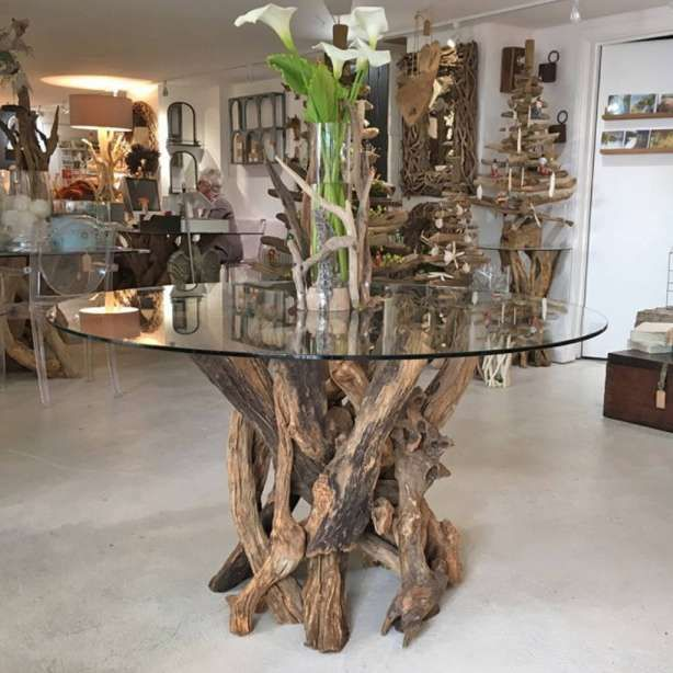 9 Best Driftwood Round Dining Table Collection Dining Table Dining Table Bases Driftwood Dining Table