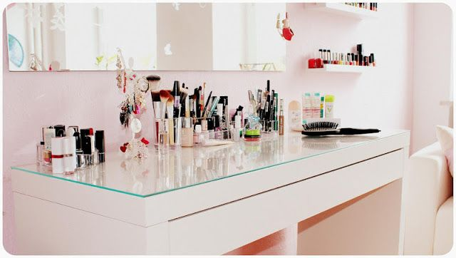 Ikea Hochstuhl Spoling Test ~ Places Tables, Interiors Inspiration, Mein Schminktisch, Dressing